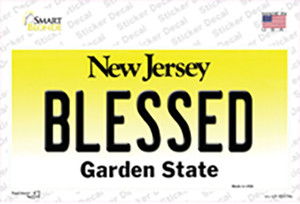 Blessed New Jersey Wholesale Novelty Sticker Decal