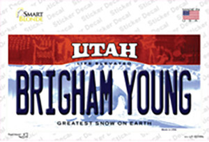 Brigham Young Utah Wholesale Novelty Sticker Decal