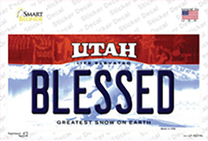 Blessed Utah Wholesale Novelty Sticker Decal