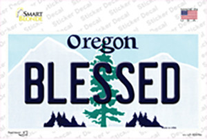 Blessed Oregon Wholesale Novelty Sticker Decal