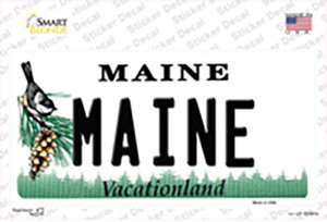 Maine Wholesale Novelty Sticker Decal