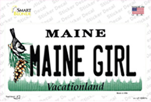 Maine Girl Wholesale Novelty Sticker Decal