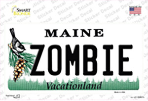 Zombie Maine Wholesale Novelty Sticker Decal