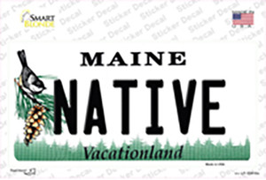 Native Maine Wholesale Novelty Sticker Decal