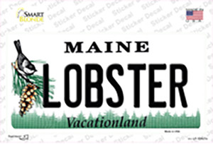Lobster Maine Wholesale Novelty Sticker Decal