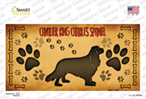 Cavalier King Charles Spaniel Wholesale Novelty Sticker Decal