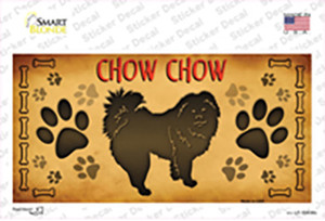 Chow Chow Wholesale Novelty Sticker Decal