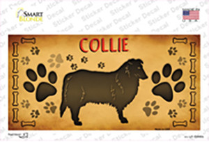 Collie Wholesale Novelty Sticker Decal