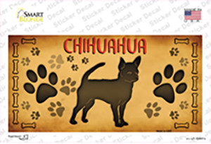 Chihuahua Wholesale Novelty Sticker Decal