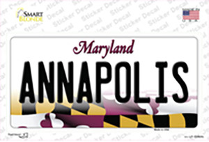 Annapolis Maryland Wholesale Novelty Sticker Decal