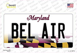 Bel Air Maryland Wholesale Novelty Sticker Decal