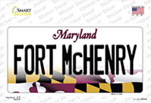 Fort McHenry Maryland Wholesale Novelty Sticker Decal