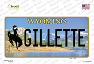 Gillette Wyoming Wholesale Novelty Sticker Decal