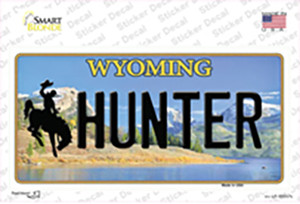 Hunter Wyoming Wholesale Novelty Sticker Decal