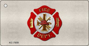 Fire Department Wholesale Novelty Key Chain