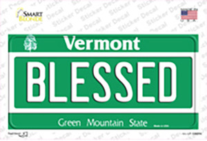 Blessed Vermont Wholesale Novelty Sticker Decal