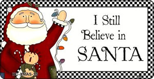 Believe In Santa Wholesale Novelty Key Chain