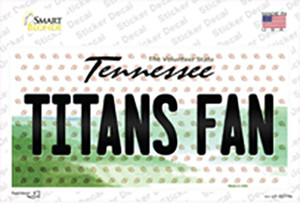 Titans Fan Tennessee Wholesale Novelty Sticker Decal