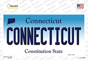 Connecticut Wholesale Novelty Sticker Decal