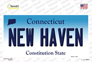 New Haven Connecticut Wholesale Novelty Sticker Decal