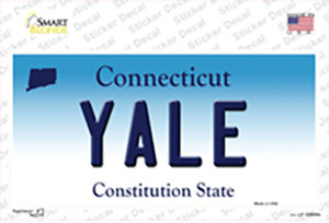 Yale Connecticut Wholesale Novelty Sticker Decal