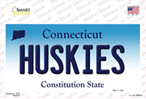 Huskies Connecticut Wholesale Novelty Sticker Decal