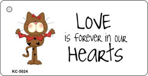 Love Is Forever Cat Wholesale Novelty Key Chain