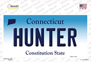 Hunter Connecticut Wholesale Novelty Sticker Decal