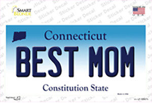 Best Mom Connecticut Wholesale Novelty Sticker Decal