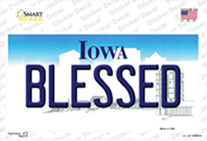 Blessed Iowa Wholesale Novelty Sticker Decal
