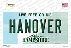 Hanover New Hampshire State Wholesale Novelty Sticker Decal