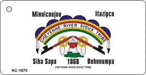 Cheyenne River Sioux Tribe Wholesale Novelty Key Chain