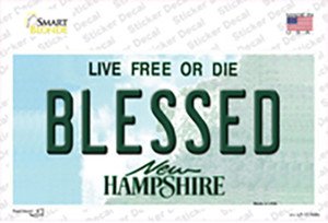 Blessed New Hampshire State Wholesale Novelty Sticker Decal