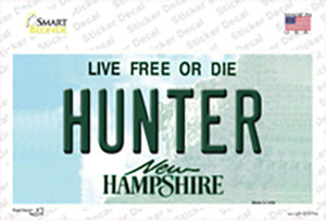 Hunter New Hampshire State Wholesale Novelty Sticker Decal