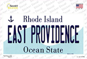 East Providence Rhode Island State Wholesale Novelty Sticker Decal