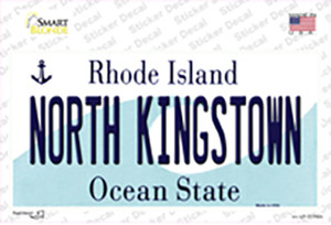 North Kingstown Rhode Island State Wholesale Novelty Sticker Decal