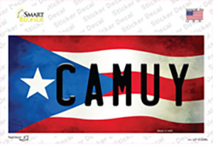 Camuy Puerto Rico Flag Wholesale Novelty Sticker Decal