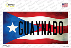 Guaynabo Puerto Rico Flag Wholesale Novelty Sticker Decal