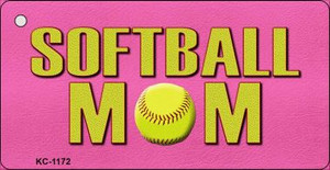 Softball Mom Wholesale Novelty Key Chain