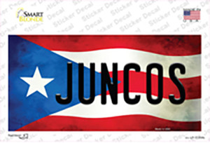 Juncos Puerto Rico Flag Wholesale Novelty Sticker Decal