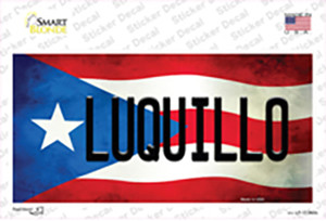 Luquillo Puerto Rico Flag Wholesale Novelty Sticker Decal