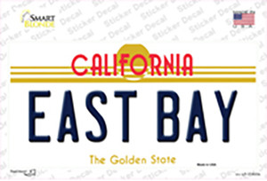 East Bay California Wholesale Novelty Sticker Decal