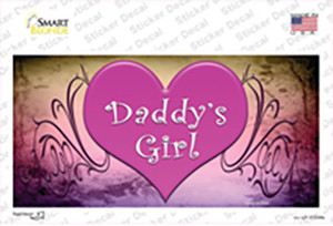 Daddys Girl Wholesale Novelty Sticker Decal