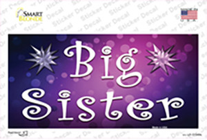 Big Sister Wholesale Novelty Sticker Decal