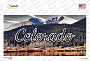 Colorado Forest and Mountains State Wholesale Novelty Sticker Decal