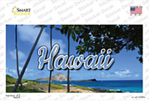 Hawaii Palm Trees State Wholesale Novelty Sticker Decal
