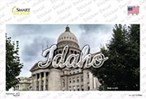Idaho Capital Building State Wholesale Novelty Sticker Decal