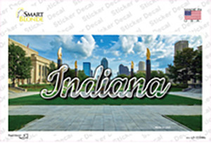 Indiana Sunny Park State Wholesale Novelty Sticker Decal