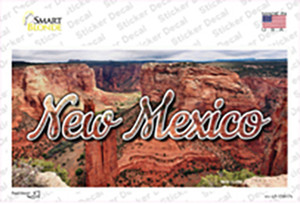 New Mexico Red Canyon State Wholesale Novelty Sticker Decal