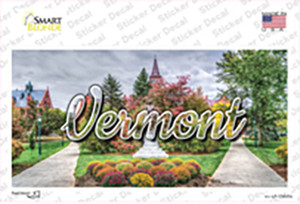 Vermont State Building State Wholesale Novelty Sticker Decal